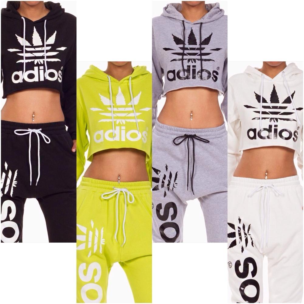 adidas sweat crop top