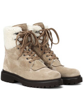 suede ankle boots,ankle boots,suede,beige,shoes