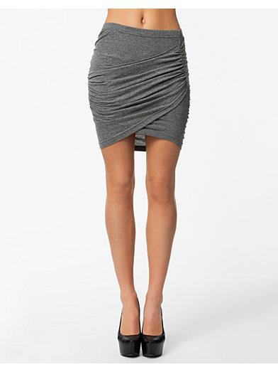 Craving Skirt - Nly Trend - Grå - Skjørt - Klær - Kvinne - Nelly.com
