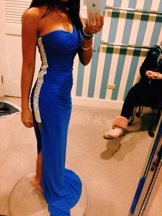 dress blue prom dress coral mermaid prom dress sweat heart blue dress dark blue dress sparkle