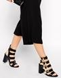 Senso Vale Multi Strap Heeled Sandals at asos.com