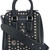 Alexander McQueen - 'Heroine' small bag - women - Leather - One Size, Black, Leather
