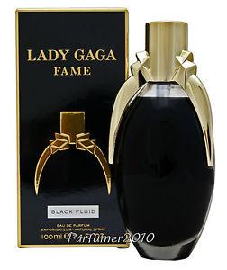 Lady Gaga Fame Black Fluid Eau de Parfum Spray 100ml | eBay