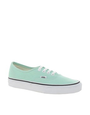 Vans | Vans Authentic Mint Trainers at ASOS