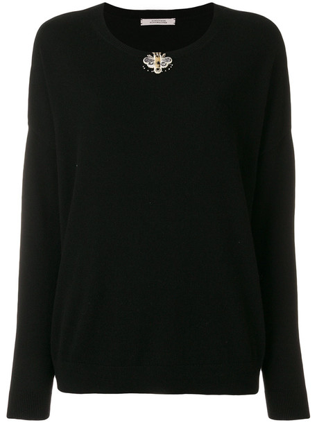 Dorothee Schumacher sweatshirt women embellished black sweater