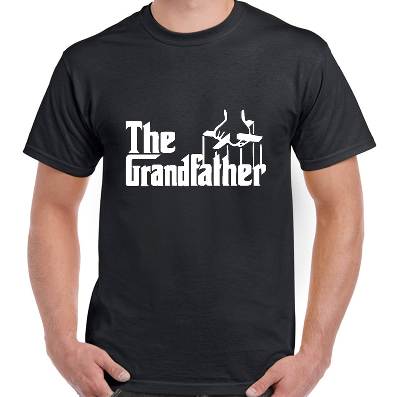Grandfather The Godfather Mens T Shirt Grandad PARODY BNWT Funny Choose Colour | eBay