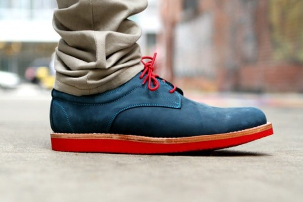shoes formal bright mens shoes red shoes blue shoes