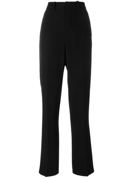 high women spandex black pants