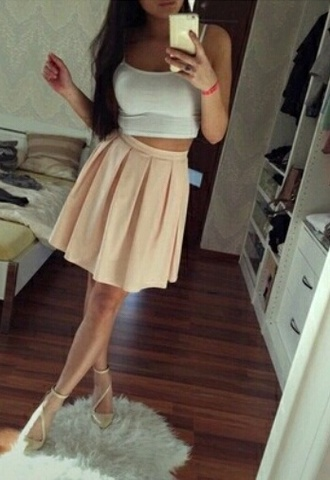 shoes beige chic strappy heels