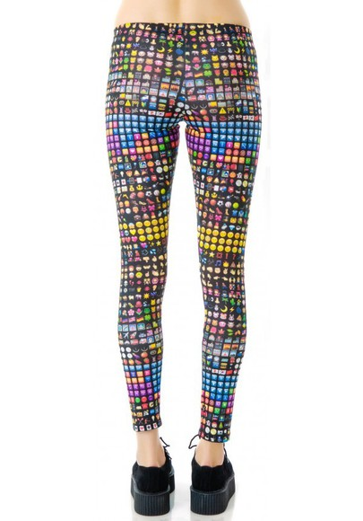 pants legging emotion smiley smileys icon smiley pants
