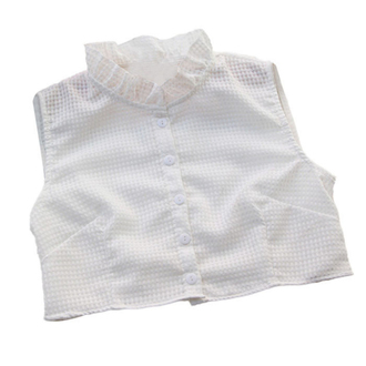 blouse white blouse button up white crop tops