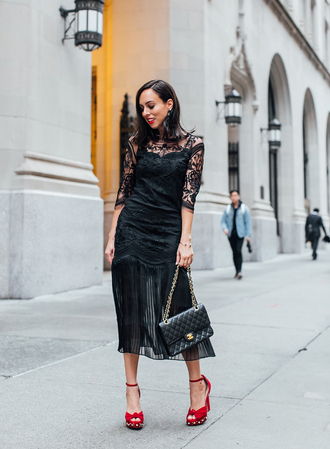 sydne summer's fashion reviews & style tips blogger dress bag jewels shoes make-up