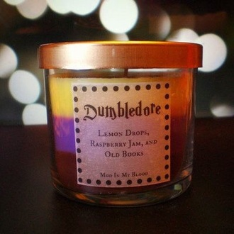home accessory harry potter candle