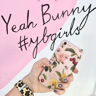 phone cover yeah bunny iphone cover cherry iphone8