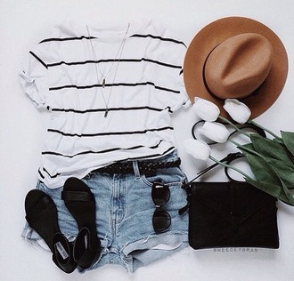 top summer holidays summer outfits striped top