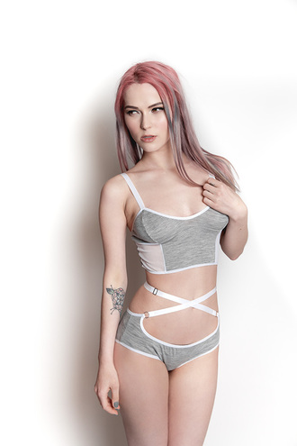 underwear grey gray lingerie lingerie set sexy lingerie white grey underwear panties bra