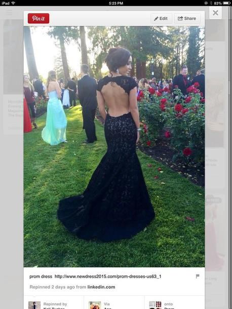 dress black open back prom dress black lace dress prom dress open back dresses black dress