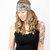 Black Lace Headband White Floral Wide Stretch Womens Hair band Accessory Head wrap Bridal Head Band
