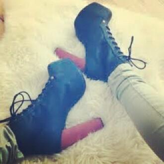 shoes black heels wooden heel tumblr black shoes