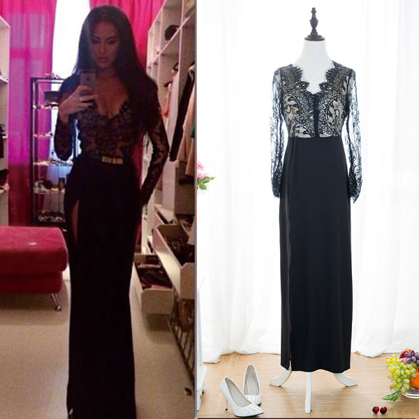 22835617a6dfa New Long Bridesmaid Formal Gown Ball Party Cocktail Evening Prom ...