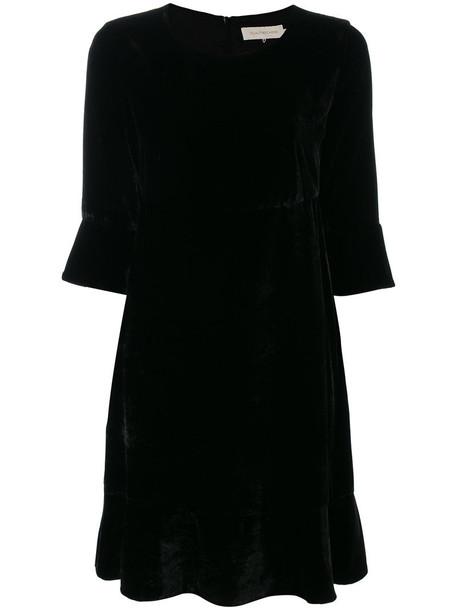 L'Autre Chose dress women black silk