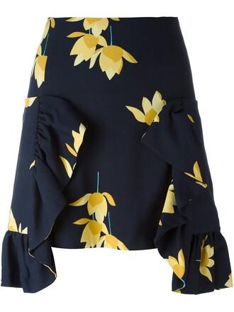 skirt floral skirt floral
