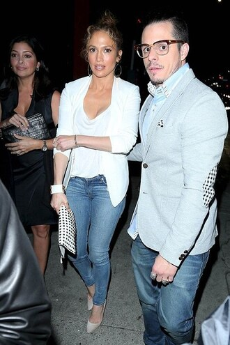 pumps jennifer lopez jeans blazer shoes