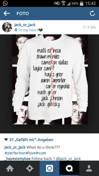 red sweater magcon boys white sweater magcon boys hoodie automn fall sweater nash grier matthew espinosa carterreynolds aaron carpenter hayes grier taylor caniff shawn mendes cameron dallas jack johnson magcon/viners magcon magcon boys name collage magcon boys name collage hoodie