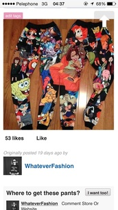 pants cartoon,leggings