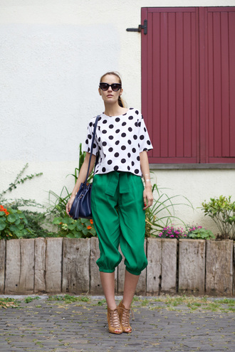 from brussels with love blogger polka dots zara sandals