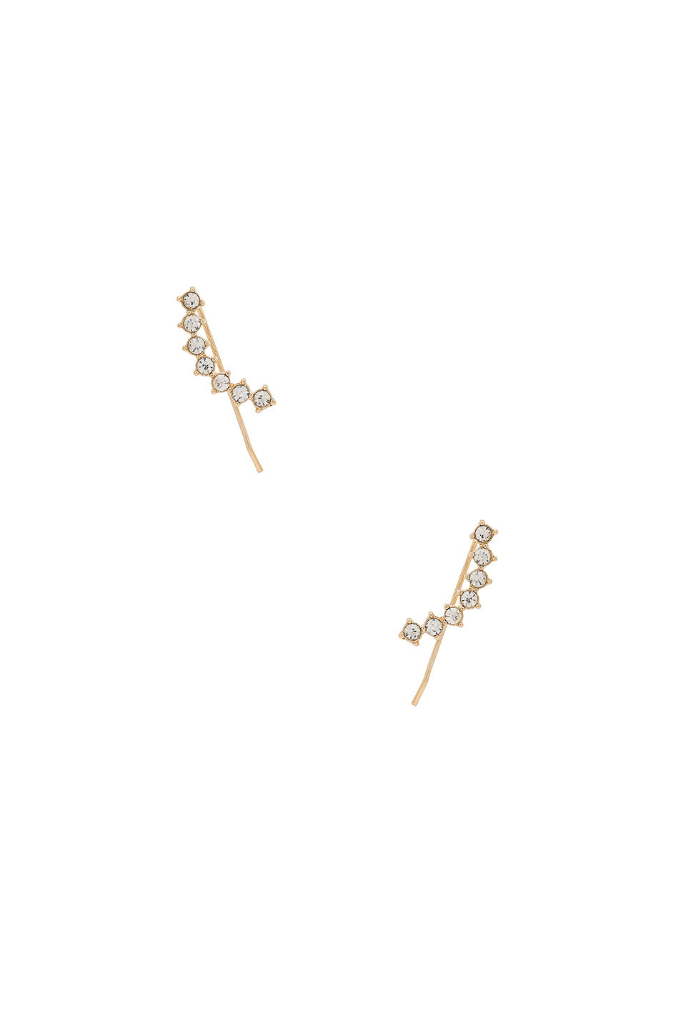 8 Other Reasons Omen Ear Cuff in gold / metallic