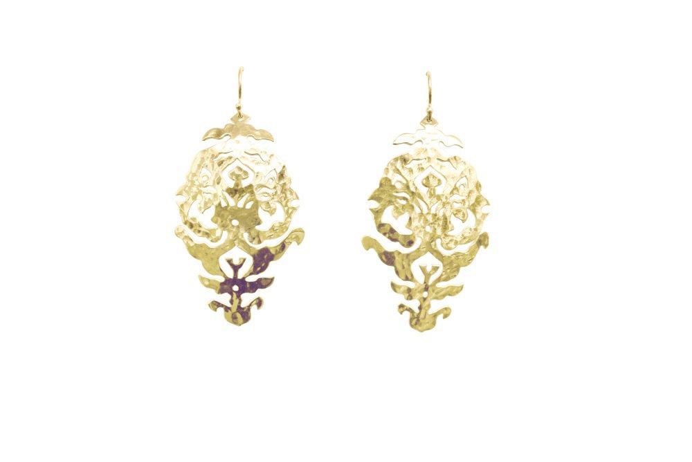 Gypsy Earrings in Sterling Silver | Murkani