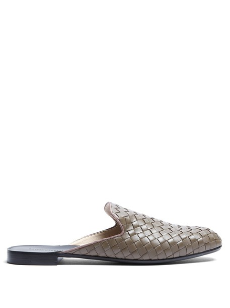 Bottega Veneta shoes leather grey
