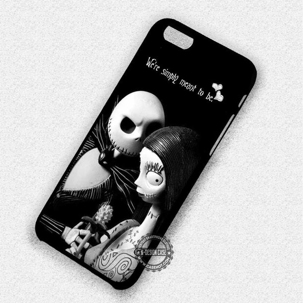 Jack The Pumpkin King And Sally iphone case