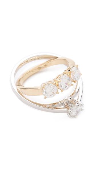 maison martin margiela imitation diamond ring shopbop. Black Bedroom Furniture Sets. Home Design Ideas