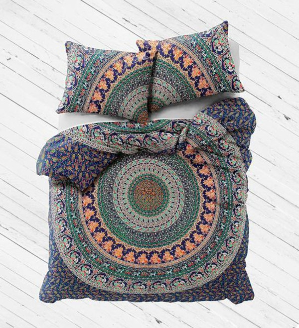 home accessory mandala bedding set duvet cover set queen bedding set cotton bed cover and pillows queen bedsheet large bedspread hippie tapestry queen blanket hippie tapestries wall hanging beach throw