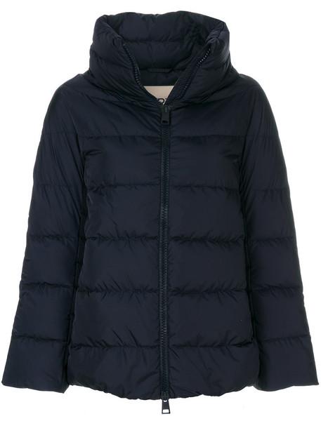 Herno jacket women blue