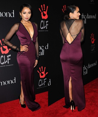 gown kat graham prom dress