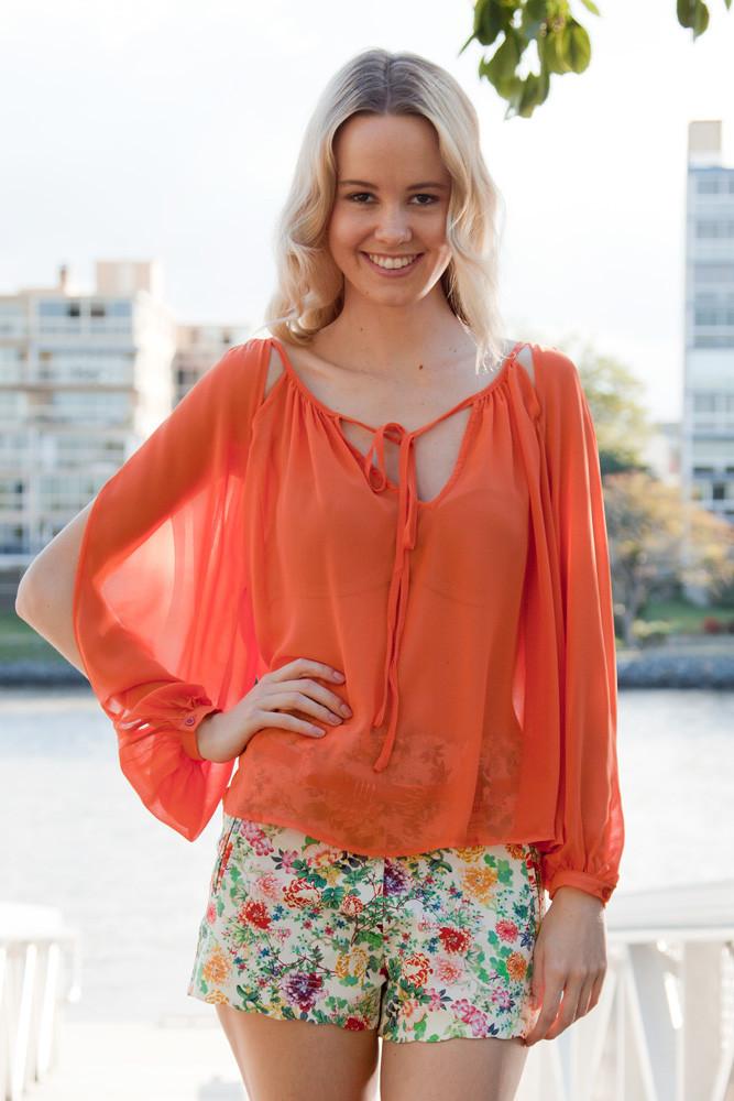 Tangerine Tango Top – Shop Fashion Avenue