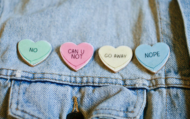 jewels tumblr pins buttons denim jacket hipster quote on it pastel green pastel pink pastel yellow pastel blue