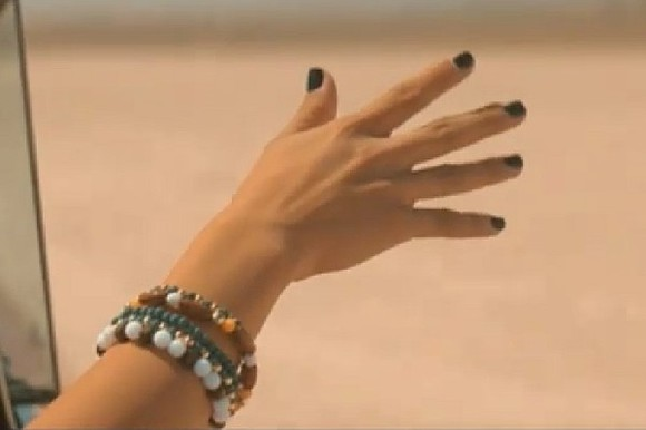 white jewels blue jewels brown jewels bracelet selena gomez wood
