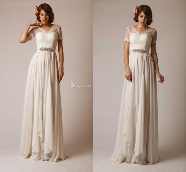 Celebrity Wedding Dresses Short 57