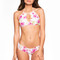 Frankies bikinis koa top - tropical bouquet