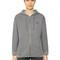 Swallow hooded zip-up cotton sweatshirt