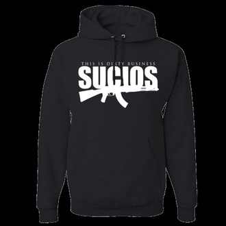 sweater clothes brand king lil g sucios urban king streetstyle hoodie black clothing
