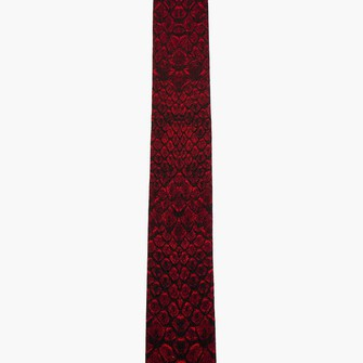 red scarf menswear reptile tie ties scarf red