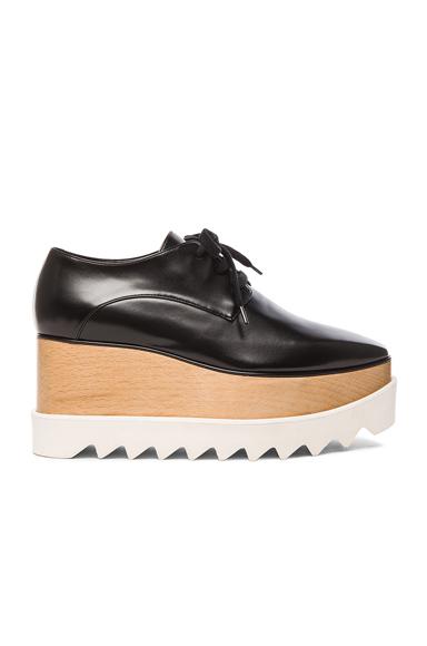 Stella McCartney Elyse Platform Shoes in Black | FWRD