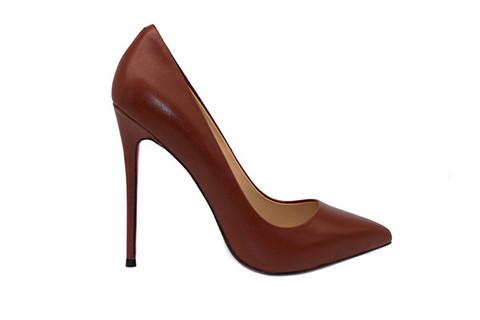 b6dc0a2687b 5 inch Heels - Dark Brown Pumps