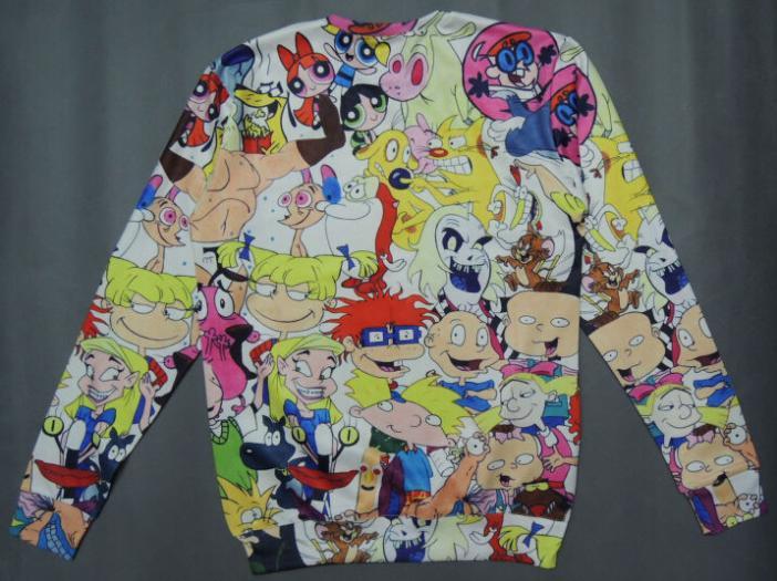 Aliexpress.com : Buy Plus size women clothing brand fashion cute cartoon character printed hoodies sweatshirt 3d harajuku style female Nora05541 from Reliable hoodie coat suppliers on Stylish Harajuku