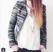 jacket,black jacket,grey jacket,fashion,blazer,smart casual,style